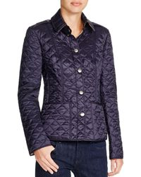 Burberry - Kencott Quilted Jacket - Lyst