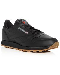 Reebok | Men's Classic Leather Lace Up Sneakers | Lyst
