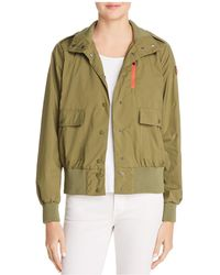 Save The Duck - Packable Bomber Raincoat - Lyst