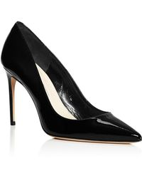 Brian Atwood - Women's Valerie Patent Leather Pointed Toe Court Shoes - Lyst
