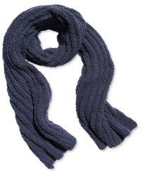 Free People Cloud Ribbed Blanket Scarf - Blue