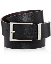 BOSS - Men's Reming Reversible Leather Belt - Lyst