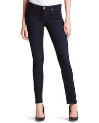 PAIGE Denim Jeans - Transcend Skyline Skinny In Mona - Blue