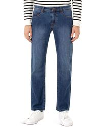 Liverpool Jeans Company Regent Straight Fit Jeans In Anderson Mid - Blue