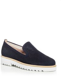 Paul Green Women's Cailey Perforated Platform Loafers - Blue