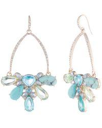 Carolee - Drama Cluster Gypsy Earrings - Lyst