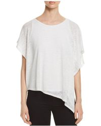 Status By Chenault - Asymmetric Overlay Top - Lyst