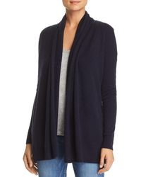 C By Bloomingdale's Open - Front Cashmere Cardigan - Blue