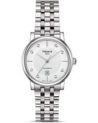 Tissot - Carson Automatic Lady Watch - Lyst