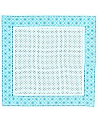 Echo Dotty Cotton Bandana - Blue