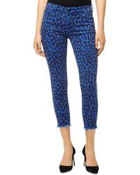 J Brand 835 Crop Skinny Jeans In Royal Jaguar - Blue