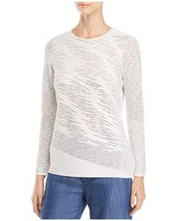 NIC+ZOE - This Is Living Wave-knit Top - Lyst