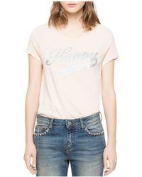 Zadig & Voltaire | Titan Bis T-shirt | Lyst