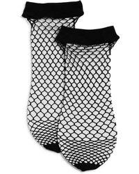 Donna Karan - Dkny Fishnet Ankle Socks, Set Of 2 - Lyst