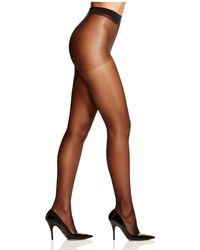 Hue - Clear Control Top Sheer Tights - Lyst