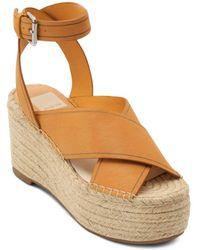 Dolce Vita Women's Carsie Platform Espadrille Sandals - Multicolour