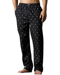 Polo Ralph Lauren - Pony Print Woven Pajama Pants - Lyst