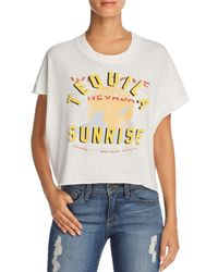 Project Social T - Tequila Sunrise Graphic Tee - Lyst