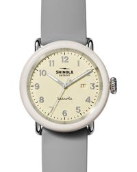 Shinola The Pine Knob Detrola Watch - Multicolour