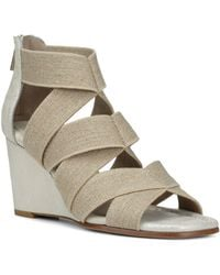 Donald J Pliner - Women's Lelle-le Elasticized Cross-strap Wedge Sandals - Lyst