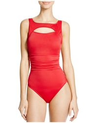 Magicsuit - Fiona Cutout Underwire One Piece Swimsuit - Lyst