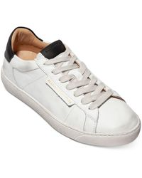 AllSaints Sheer Lace Up Sneakers - White