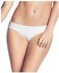 eaf977903 Maaji - Whisper White Cascade Reversible Bikini Bottom - Lyst