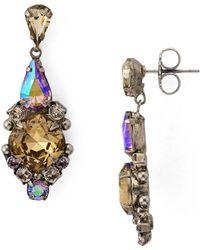 Sorrelli Alyssum Drop Earrings - Multicolour