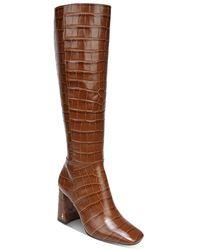 Sam Edelman Clarem High Heel Boots - Brown