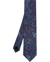 Ted Baker - Belgium Paisley Skinny Tie - Lyst