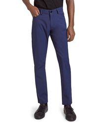 Theory Raffi Neoteric Slim Fit Pants - Blue