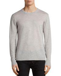 AllSaints - Lang Merino Crew Sweater - Lyst