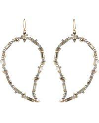 Alexis Bittar - Crystal Paisley Earrings - Lyst