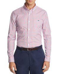 Vineyard Vines - Tucker Plaid Slim Fit Button-down Shirt - Lyst