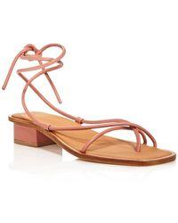 LOQ Women's Ara Lace - Up Sandals - Multicolour