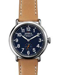 Shinola The Runwell Watch - Brown