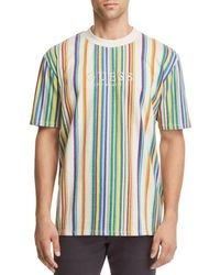 Guess - Riviera Striped Tee - Lyst