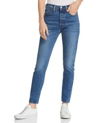 Levi's - 501 Skinny Stretch Jeans In We The People - Lyst