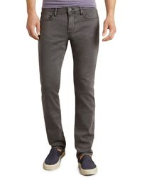 John Varvatos Bowery Straight Fit Jeans In Shark - Grey