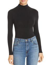 Yummie By Heather Thomson Madelyn Seamless Bodysuit - Black