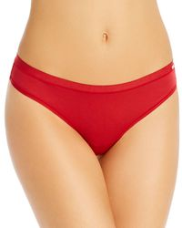Le Mystere Infinite Comfort Thong - Red