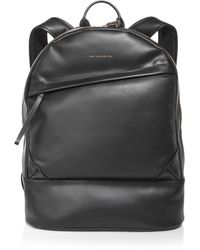 Want Les Essentiels De La Vie Kastrup Leather Backpack - Black