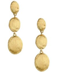 Marco Bicego 18k Yellow Gold Siviglia Drop Earrings - Metallic