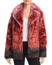 Unreal Fur - Flaming Lips Faux Fur Coat - Lyst