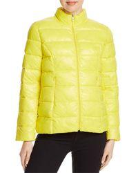 Aqua Packable Puffer Jacket - Yellow