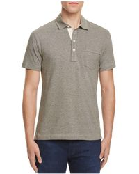 Billy Reid - Pensacola Regular Fit Polo - Lyst