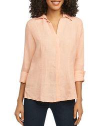 Foxcroft - Three-quarter-sleeve Shirt - Lyst