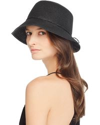 81f37fc7f August Hat Company August Accessories Melton Mod Cap in Black - Lyst