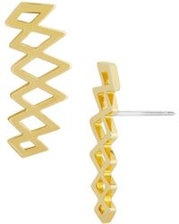 BaubleBar - Andare Ear Crawler Earrings - Lyst