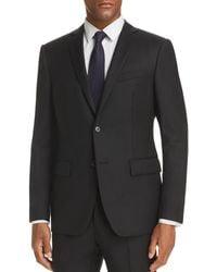 John Varvatos Basic Slim Fit Suit Jacket - Black